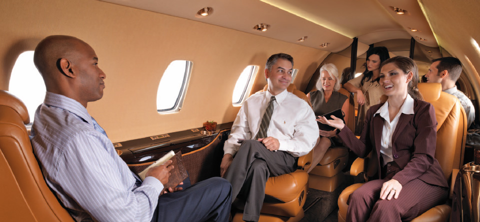 Private Business Jet Charter with Millbrook Air